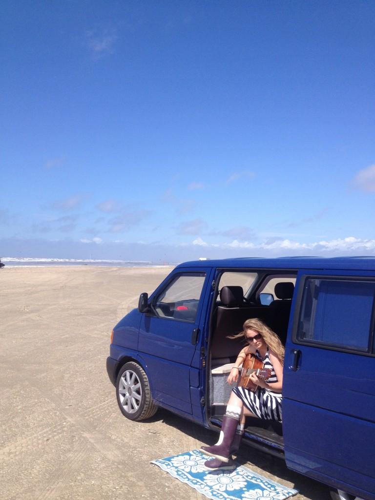 beach denmark camper vans vw