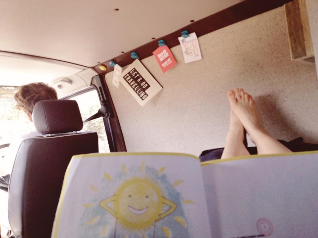 travelling camper