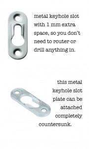 keyhole-slots