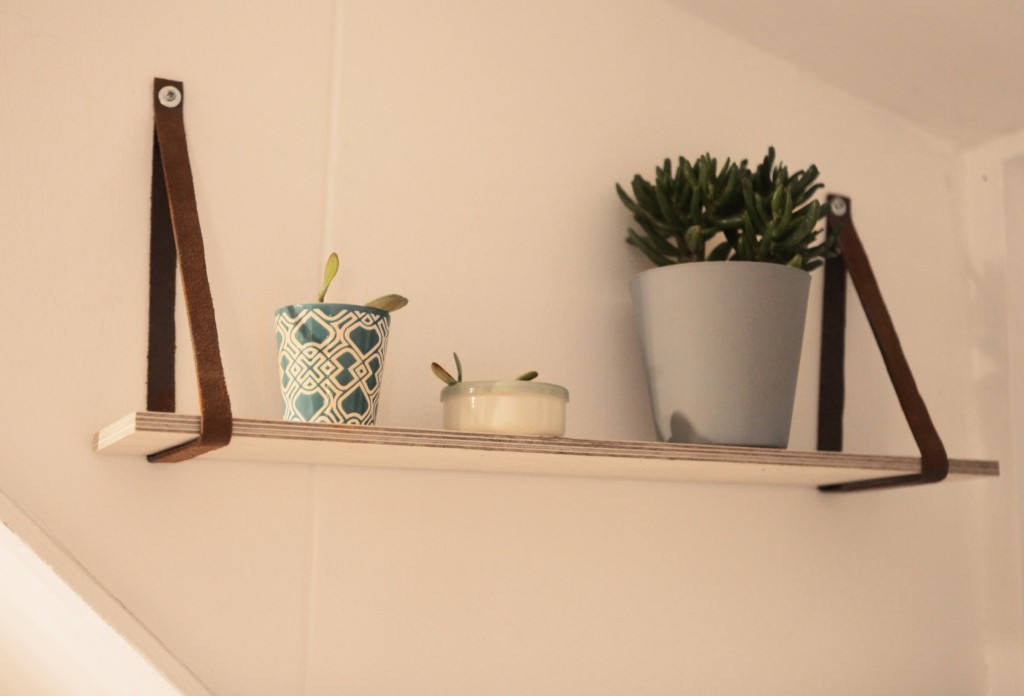 shelf scandinavian wall wood