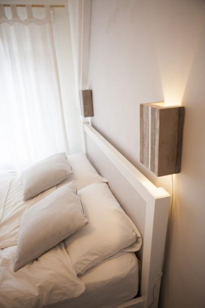 bedroom rustic wooden lights